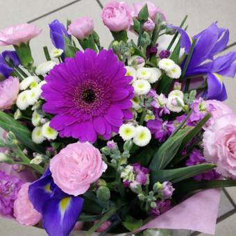 Nuotaikingos gėlės / Aleksandra Kiseliovienė / Darbų pavyzdys ID 326855