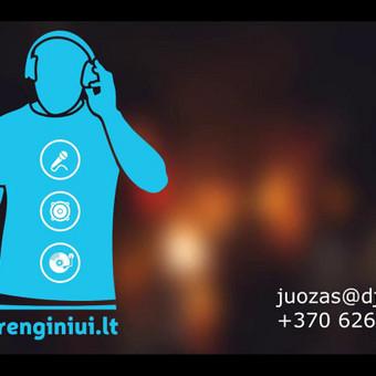 DJ su garso, bei apšvietimo įranga / Juozas Čybas / Darbų pavyzdys ID 327255