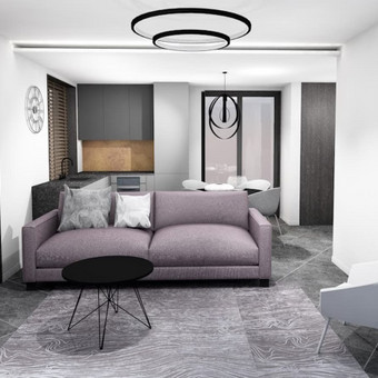 Casa-nova interjero dizainas ir projektavimas / Casa-nova Interjero dizainas / Darbų pavyzdys ID 327891