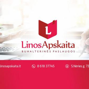"""Buhalterinės apskaitos paslaugos / IĮ """"Linos apskaita"""" / Darbų pavyzdys ID 329983"""