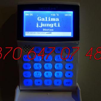 Signalizacijos įrengimas / Evaldas / Darbų pavyzdys ID 330455
