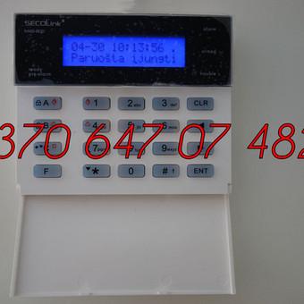 Signalizacijos įrengimas / Evaldas / Darbų pavyzdys ID 330457