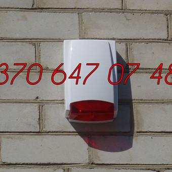 Signalizacijos įrengimas / Evaldas / Darbų pavyzdys ID 330459