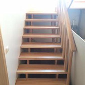 Durys, laiptai, staliu gaminiai. / Andrius Tomelis / Darbų pavyzdys ID 330565