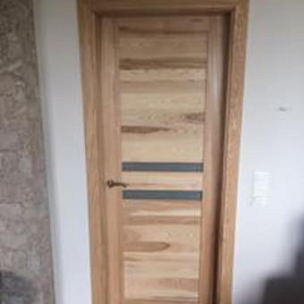 Durys, laiptai, staliu gaminiai. / Andrius Tomelis / Darbų pavyzdys ID 330567