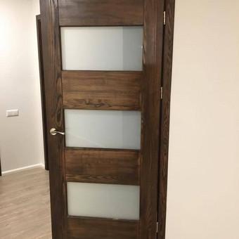 Durys, laiptai, staliu gaminiai. / Andrius Tomelis / Darbų pavyzdys ID 330571