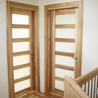 Durys, laiptai, staliu gaminiai. / Andrius Tomelis / Darbų pavyzdys ID 330573