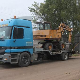 Krovinių gabenimas tech. pagalba iki 17t / Ignas Skučas / Darbų pavyzdys ID 330799