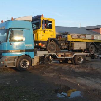Krovinių gabenimas tech. pagalba iki 17t / Ignas Skučas / Darbų pavyzdys ID 330803