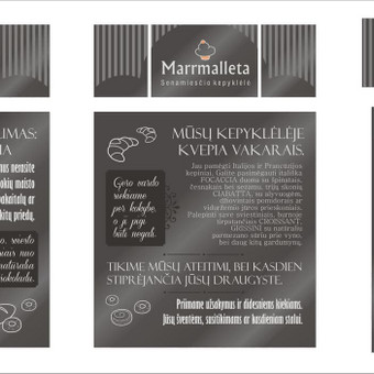 Grafikos dizainerė - logotipų kūrimas, skrajutės, vizitinės / Agnietė Suknelevičienė / Darbų pavyzdys ID 331751