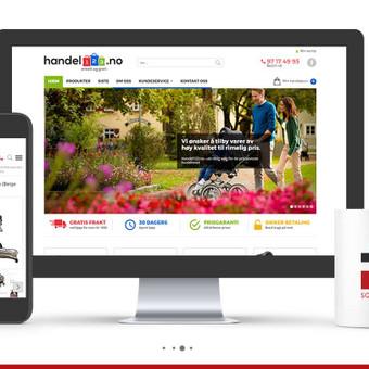 Gyvai pamatyti projektą - www.handel123.no