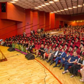VDU absolventų diplomų įteikimo šventė 2017