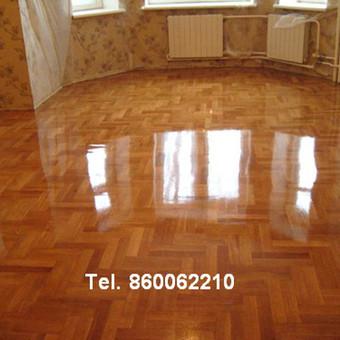 Slifavimas,atnaujinimas grindu,parketo / Slifavimas Grindu / Darbų pavyzdys ID 333947