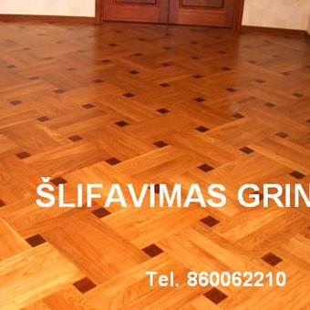 Slifavimas,atnaujinimas grindu,parketo / Slifavimas Grindu / Darbų pavyzdys ID 333949