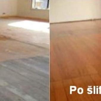 Slifavimas,atnaujinimas grindu,parketo / Slifavimas Grindu / Darbų pavyzdys ID 333951