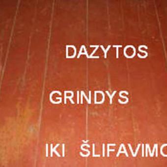Slifavimas,atnaujinimas grindu,parketo / Slifavimas Grindu / Darbų pavyzdys ID 333953