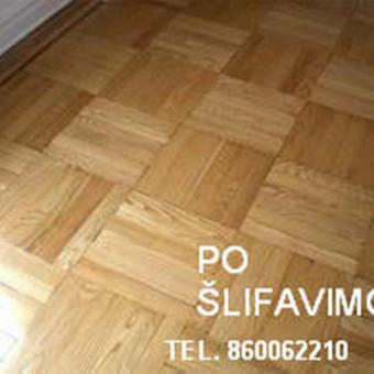 Slifavimas,atnaujinimas grindu,parketo / Slifavimas Grindu / Darbų pavyzdys ID 333955