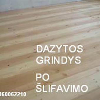 Slifavimas,atnaujinimas grindu,parketo / Slifavimas Grindu / Darbų pavyzdys ID 333957