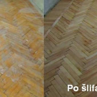 Slifavimas,atnaujinimas grindu,parketo / Slifavimas Grindu / Darbų pavyzdys ID 333967