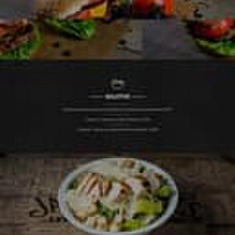 4 puslapių svetainė restorano verslui