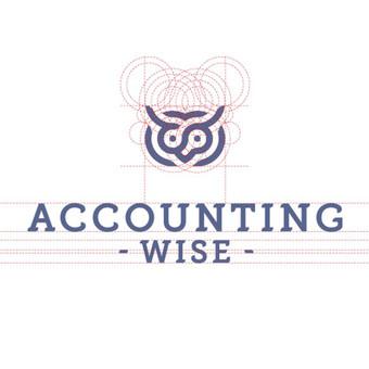 Accounting wise - buhalterinės paslaugos       Logotipų kūrimas - www.glogo.eu - logo creation.