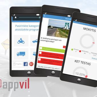 Mobiliųjų aplikacijų kūrėjas / Appvil / Darbų pavyzdys ID 336809