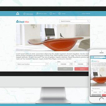 web dizainas (UI/ UX) / Rokas Kraujelis / Darbų pavyzdys ID 338039