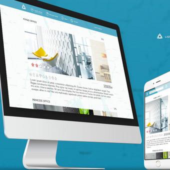 web dizainas (UI/ UX) / Rokas Kraujelis / Darbų pavyzdys ID 338075