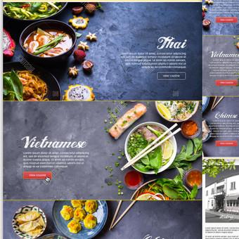 web dizainas (UI/ UX) / Rokas Kraujelis / Darbų pavyzdys ID 338093