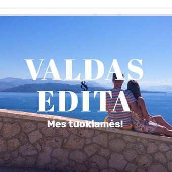 Internetinis vestuvių puslapis <3 / Edita Macikaitė / Darbų pavyzdys ID 338885