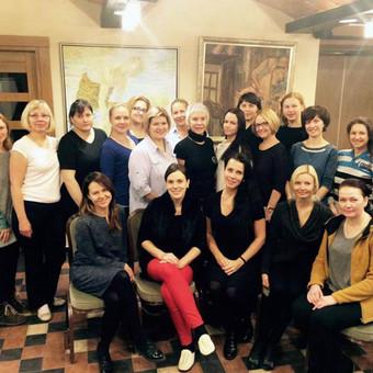 E. Zemskovos masažo mokyklos akimirkos