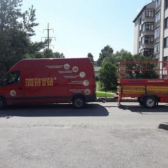Pervežimas, perkraustymo paslaugos / MB Transkrausta / Darbų pavyzdys ID 339413