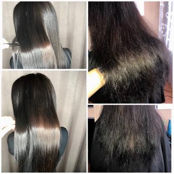 Encanto / Cocochoco plaukų tiesinimas / Tiesinimas By Q / Darbų pavyzdys ID 339723