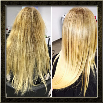 Encanto / Cocochoco plaukų tiesinimas / Tiesinimas By Q / Darbų pavyzdys ID 339725