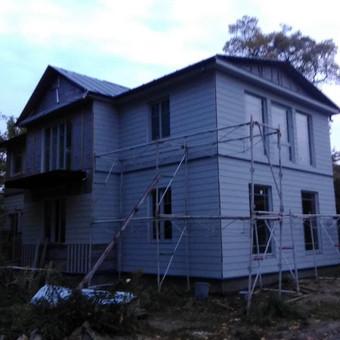 Senu mediniu namu renovacija,rekonstrukcija / Aivaras / Darbų pavyzdys ID 339845
