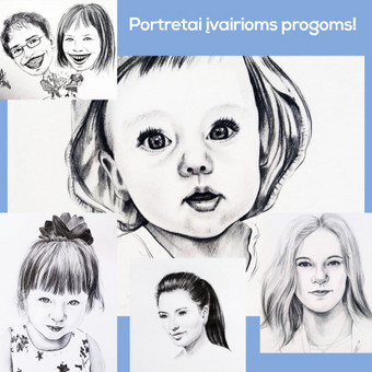Portretai, tapyba, piešimas / Monika / Darbų pavyzdys ID 341115
