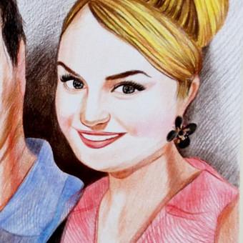 Portretai, tapyba, piešimas / Monika / Darbų pavyzdys ID 341119