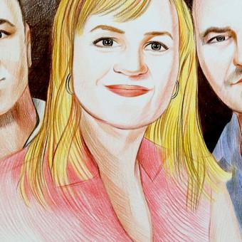 Portretai, tapyba, piešimas / Monika / Darbų pavyzdys ID 341121