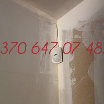 Signalizacijos įrengimas / Evaldas / Darbų pavyzdys ID 342385