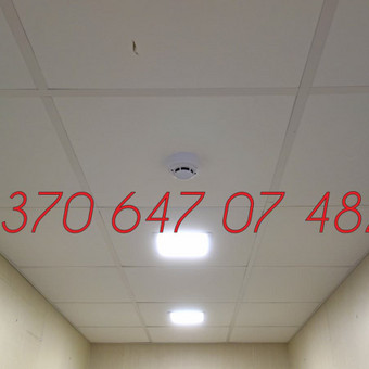 Signalizacijos įrengimas / Evaldas / Darbų pavyzdys ID 342389