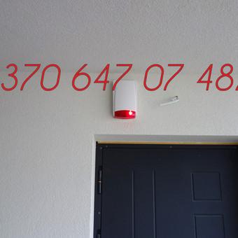 Signalizacijos įrengimas / Evaldas / Darbų pavyzdys ID 342393