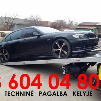 Tralas Vilniuje, Technine pagalba kelyje / 777 kelyje.lt / Darbų pavyzdys ID 342441