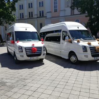 """Mikroautobusų nuoma įvairioms progoms / UAB """"Balti mikroautobusai"""" / Darbų pavyzdys ID 344511"""