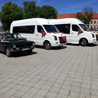 """Mikroautobusų nuoma įvairioms progoms / UAB """"Balti mikroautobusai"""" / Darbų pavyzdys ID 344521"""