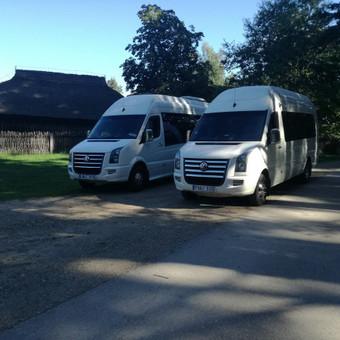 """Mikroautobusų nuoma įvairioms progoms / UAB """"Balti mikroautobusai"""" / Darbų pavyzdys ID 344543"""