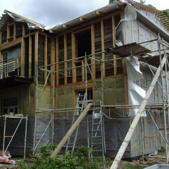 Senu mediniu namu renovacija,rekonstrukcija / Aivaras / Darbų pavyzdys ID 348435
