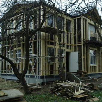 Senu mediniu namu renovacija,rekonstrukcija / Aivaras / Darbų pavyzdys ID 348441