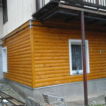Senu mediniu namu renovacija,rekonstrukcija / Aivaras / Darbų pavyzdys ID 348443