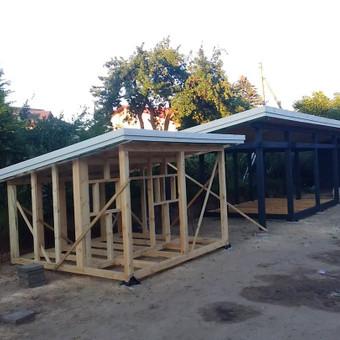 Senu mediniu namu renovacija,rekonstrukcija / Aivaras / Darbų pavyzdys ID 348447