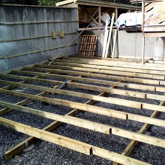 Senu mediniu namu renovacija,rekonstrukcija / Aivaras / Darbų pavyzdys ID 348453